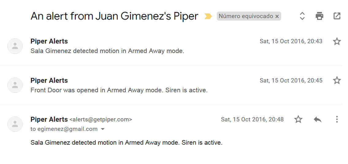 2 Siren is active